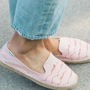 SOLUDOS   Pink Spring/Summer Espadrilles